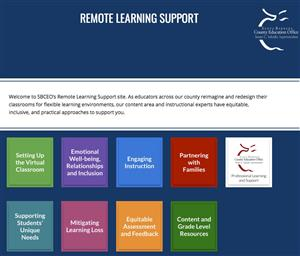 SBCEO Remote Learning Support Photo